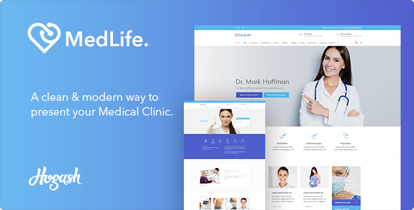 Image of Health Medlife - Health Care HTML template