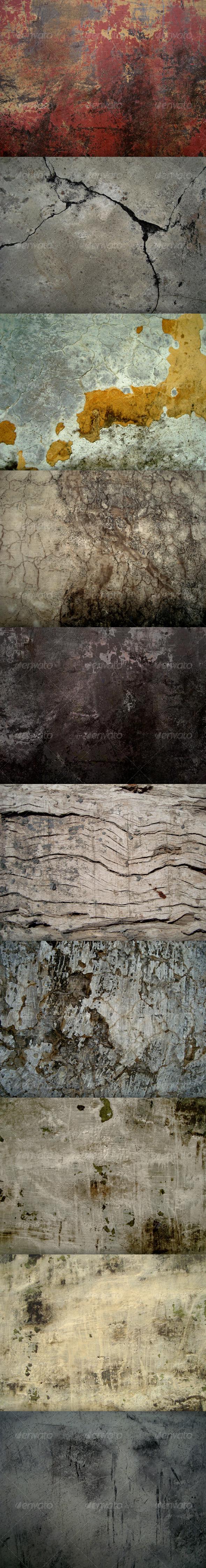 Grunge Textures pack - Industrial / Grunge Textures