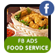 Food Business Services FB Ad Banners - AR