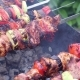 Man Cooks Meat on the Grill - VideoHive Item for Sale
