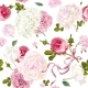 Romantic Garden Pattern - GraphicRiver Item for Sale