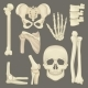 Parts of Human Skeleton - GraphicRiver Item for Sale