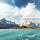 Pehoe Lake and Los Cuernos, Chile. - PhotoDune Item for Sale