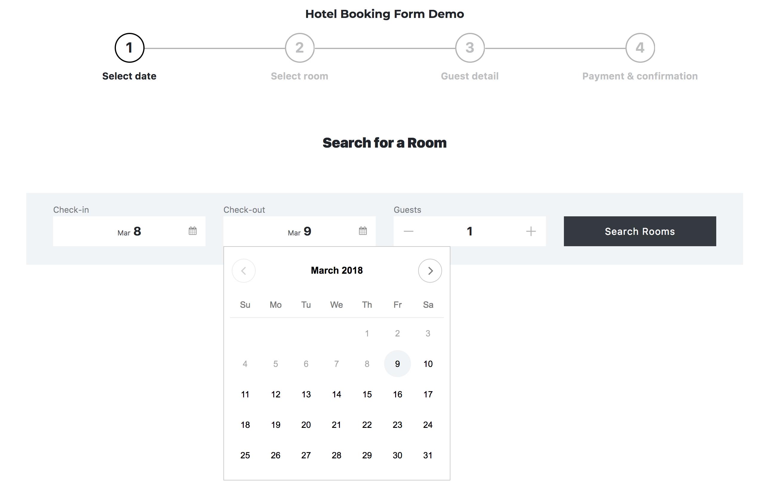 Hotel booking system wordpress plugin by creativeitem codecanyon screenshots18oking form datepickerg falaconquin