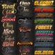 30 Bundle Text Styles W16-18 - GraphicRiver Item for Sale