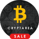 Cryptarea - Bitcoin And Crypto Currency HTML Template - ThemeForest Item for Sale