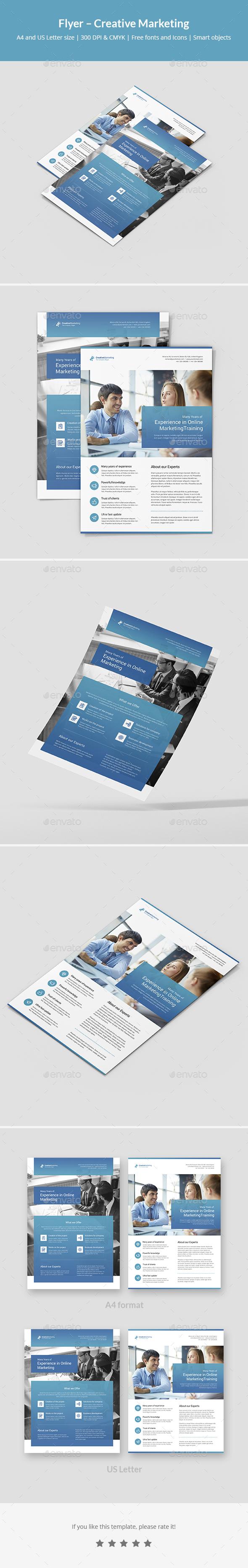 Flyer – Creative Marketing - Corporate Flyers
