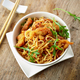 Bowl of asian noodles with fried meat - PhotoDune Item for Sale
