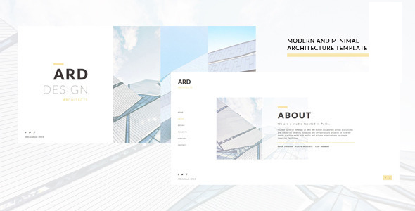 ARD - Architect   Builder Minimal Joomla Template