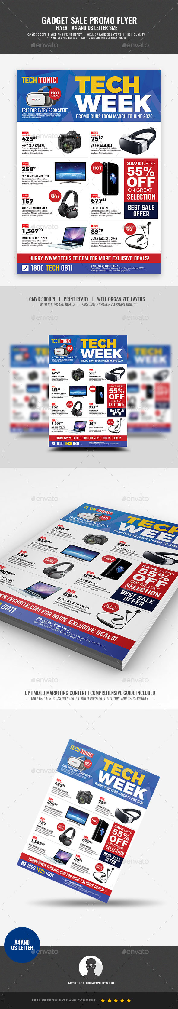 Gadget Sale Flyer - Corporate Flyers