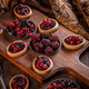 Delicious berry fruits mini tarts - PhotoDune Item for Sale
