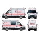 Vector Ambulance Van - GraphicRiver Item for Sale