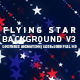 Flying Star Background 3 - VideoHive Item for Sale