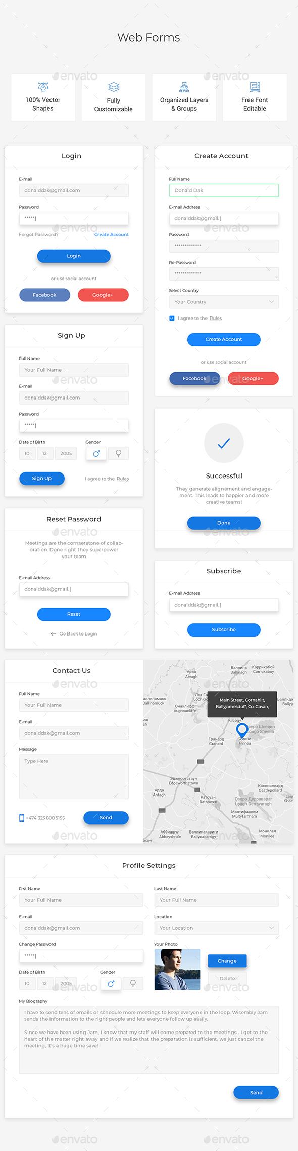 Web Forms - Forms Web Elements