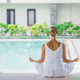 Yoga by the pool - PhotoDune Item for Sale
