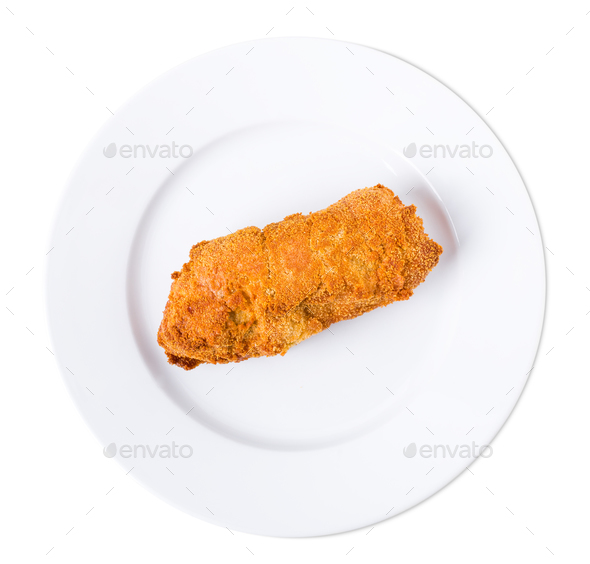 Delicious kiev cutlet. - Stock Photo - Images