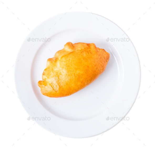 Delicious pie with chicken fillet. - Stock Photo - Images
