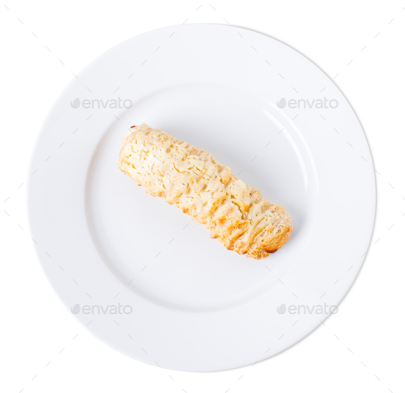 Delicious sausage roll. - Stock Photo - Images