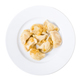 Ukrainian dumplings vareniki with mashed potatoes. - PhotoDune Item for Sale
