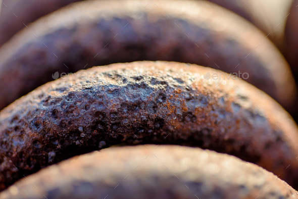 Rusty spring - Stock Photo - Images