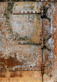 Rusty metal door details - PhotoDune Item for Sale