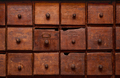 Wooden cabinet with drawers - PhotoDune Item for Sale