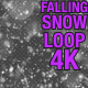 4K Falling Snow V3 - VideoHive Item for Sale
