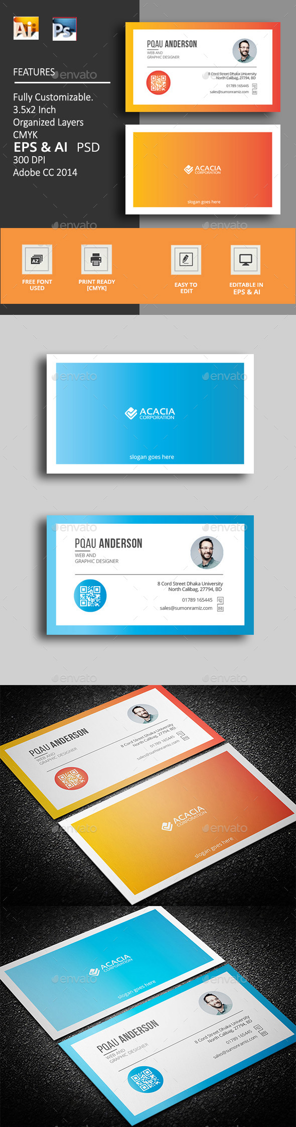 Mamoli Business Card - Corporate Business Cards