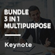 Bundle 3 in 1 Multipurpose Keynote