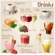 Set of Food Icons. Drinks. - GraphicRiver Item for Sale