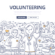 Volunteering Doodle Concept - GraphicRiver Item for Sale