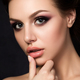 Portrait of young beautiful woman with evening make up - PhotoDune Item for Sale