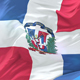Flag of the Dominican Republic Waving - VideoHive Item for Sale