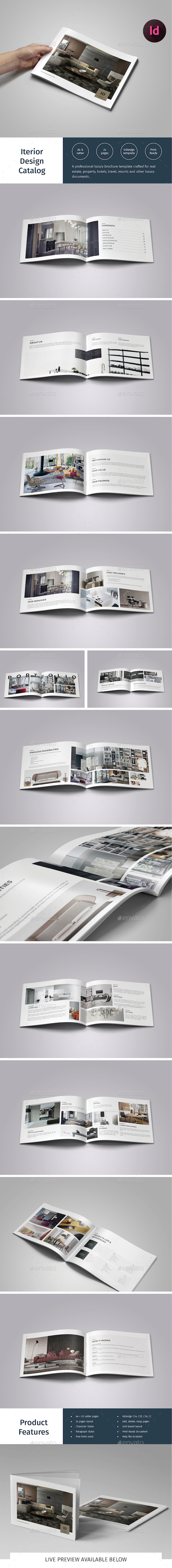 Interior Design Catalog - Catalogs Brochures