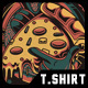 Go Pizza T-Shirt Design - GraphicRiver Item for Sale
