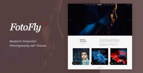 Fotofly - Photography WordPress Theme