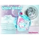 Vector Realistic Promo Banner of Liquid Detergent