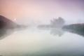 Fog above lake - PhotoDune Item for Sale