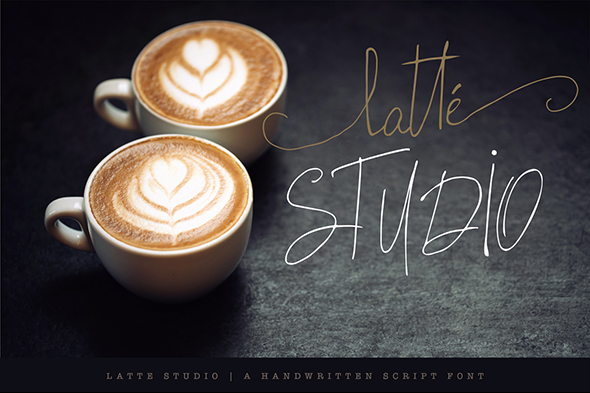 Latte Studio - Hand-writing Script