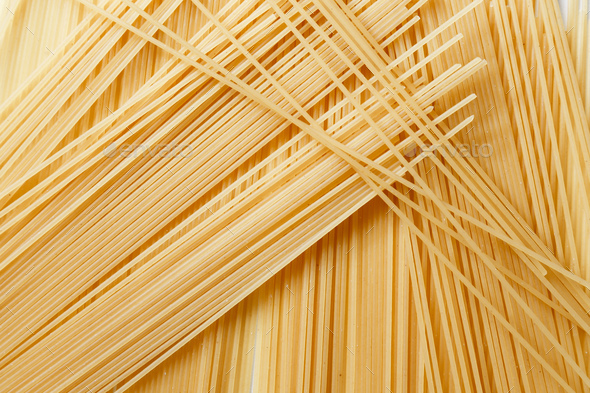 Close up view of spaghetti - Stock Photo - Images