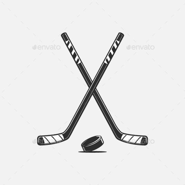 Ice Hockey - Sports/Activity Conceptual