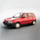 Fiat Uno 70S 3D model - 3DOcean Item for Sale