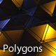 Metallic Polygon Field - VideoHive Item for Sale