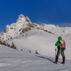 climbing on mountain in winter - PhotoDune Item for Sale