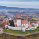 Hosman fortified church in Transylvania, Romania - PhotoDune Item for Sale