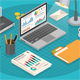 Workplace Isometric Concept - GraphicRiver Item for Sale