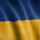 Burlap Flag of Ukraine - VideoHive Item for Sale