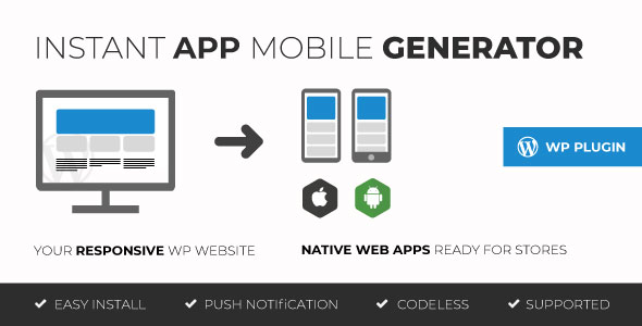 moZable - Instant mobile app generator - CodeCanyon Item for Sale