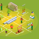 Hydroponic Farming Isometric Flowchart - GraphicRiver Item for Sale