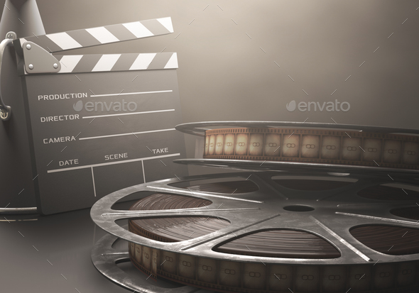 Motion Picture Cinema - Stock Photo - Images